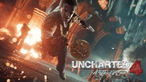 Uncharted 4 gameplay wallpaper