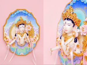 Tina Yu's artwork Goddess Tara