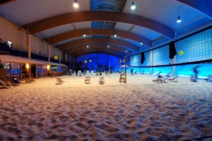 Indoor Beach Gym & Volleyball Court featured at PDB Fitness: Sun & Sand