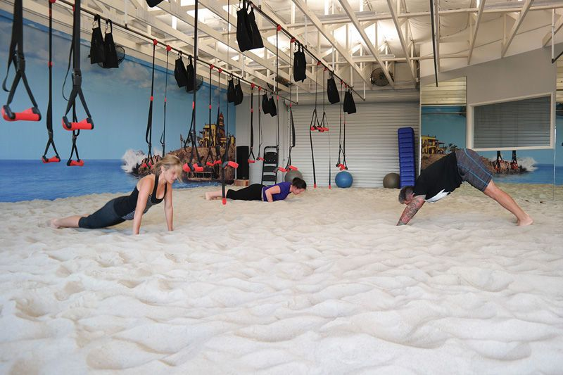 Indoor Beach Gym: Relieve Stress with Summer Activities!