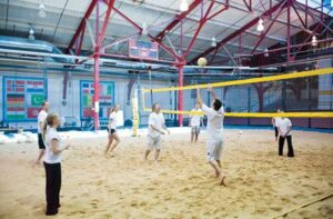 Indoor Beach and Fitness Gym Summer Activities to Relieve Stress