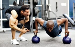 Motivation - healthy balanced routine to stay fit