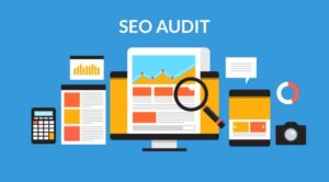 Graphic of Website SEO Audit